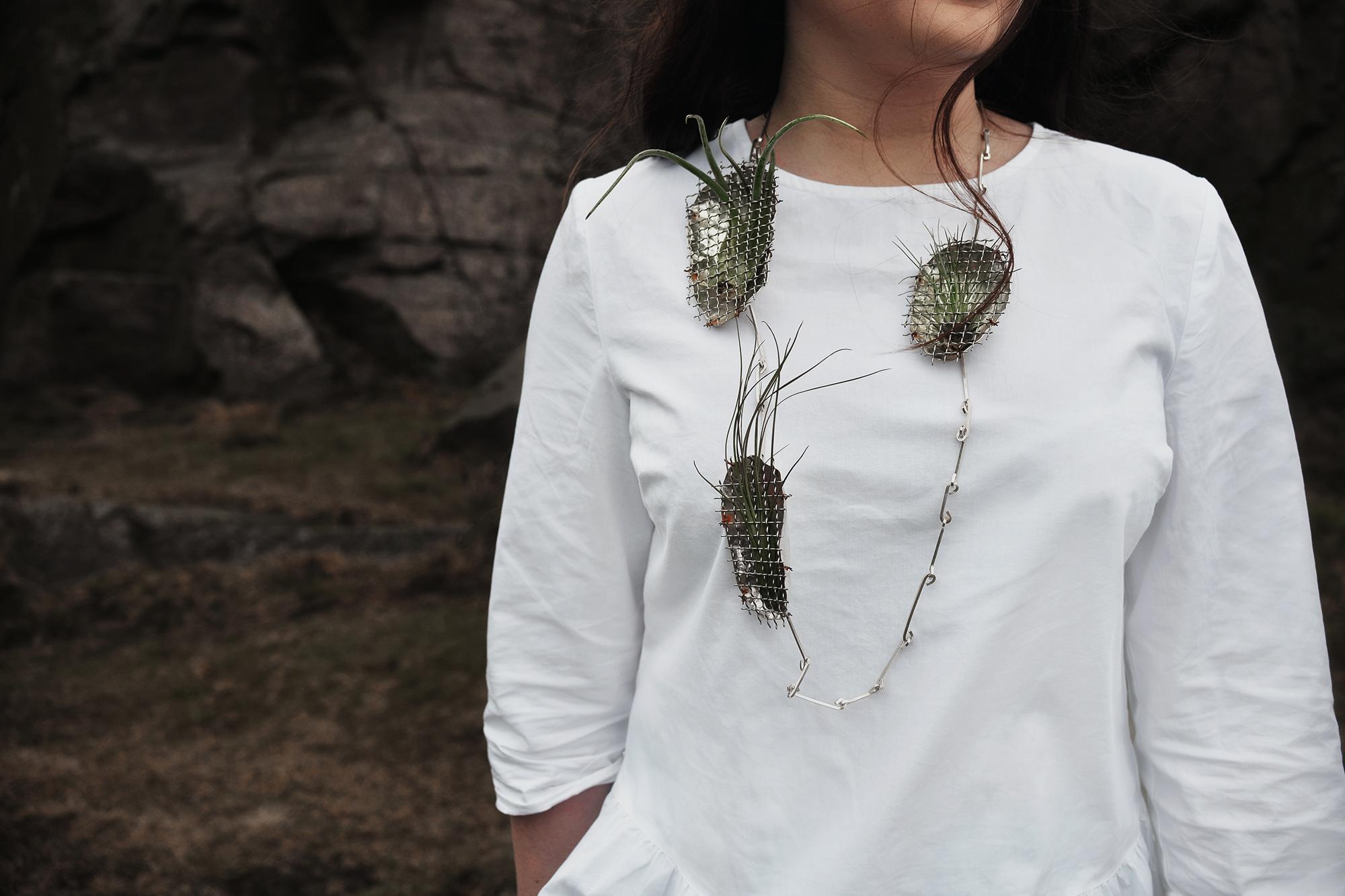 Air-Plant Necklace, 2016