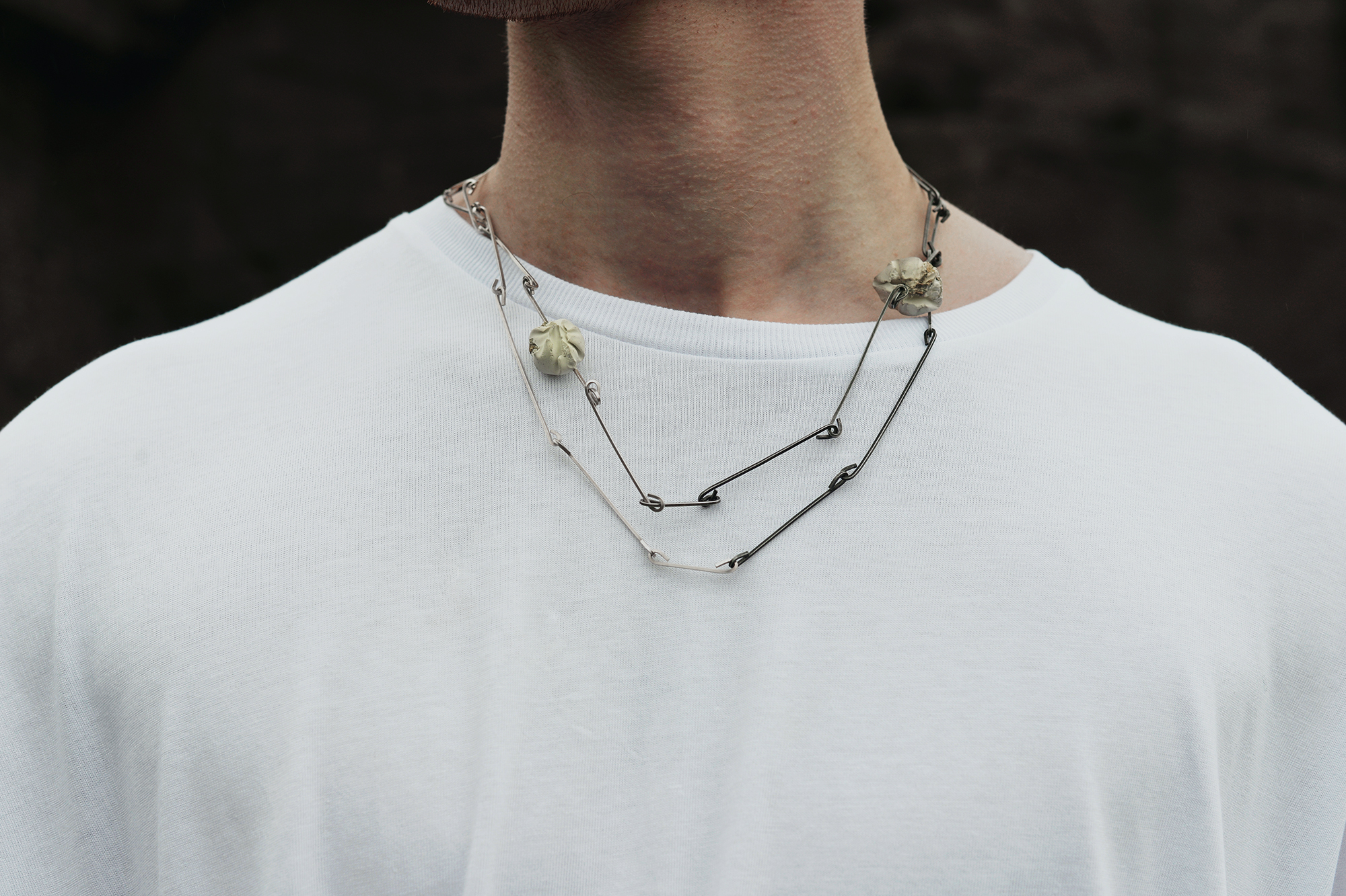 Double Half and Half Necklace, 2016