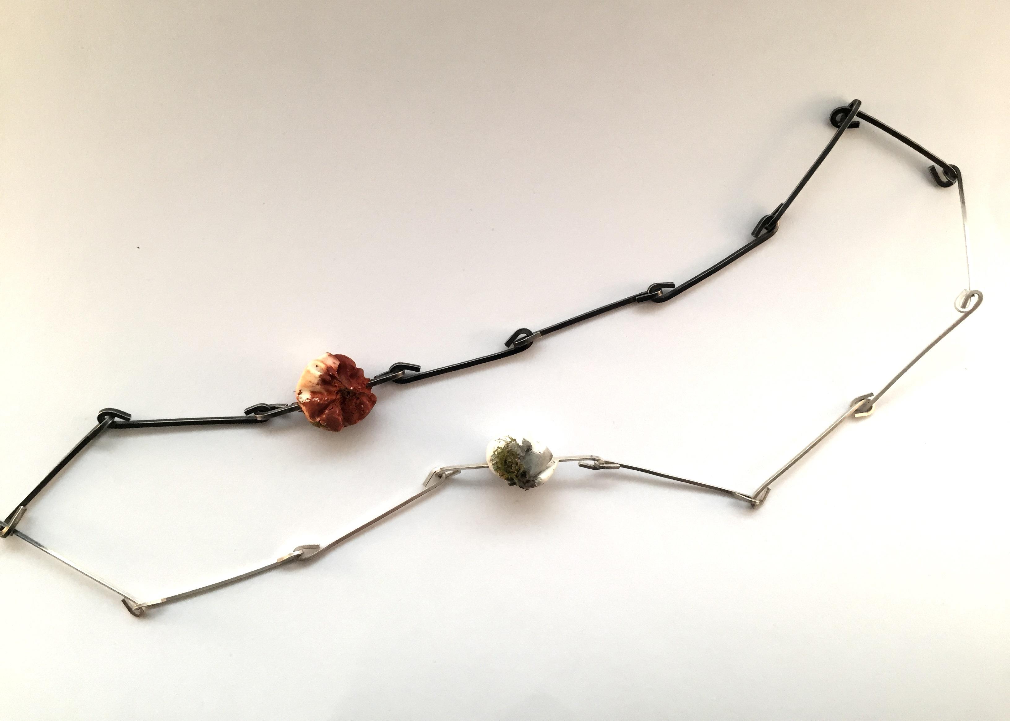 Half and Half Necklace, 2016