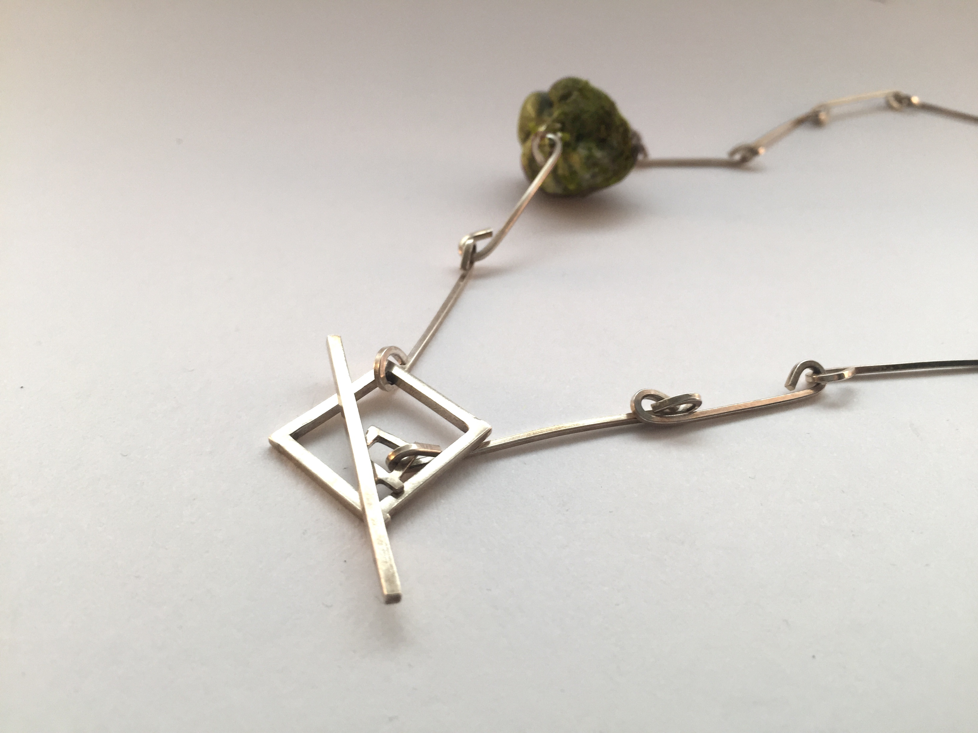Front Clasp Necklace, 2016